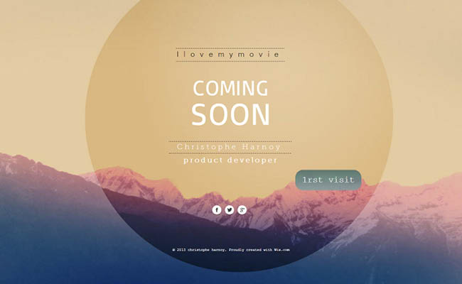 15 Quot Coming Soon Quot Websites That Keep Visitors Hungry For More